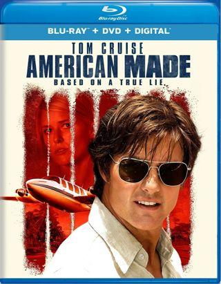 American Made Blu-ray + DVD + Digital Brand New Tom Cruise