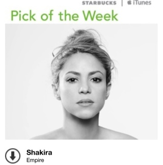 """Free iTunes Song Download: Shakira """"Empire"""" (Retails $1.29)"""