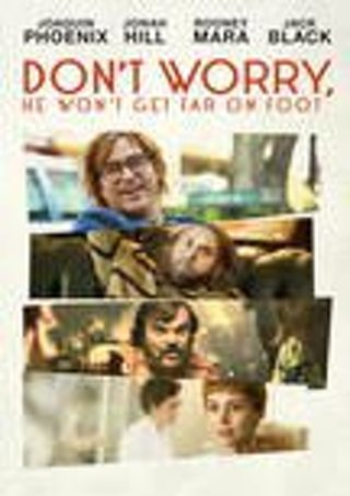 DON'T WORRY HE WONT GET FAR ON FOOT VUDU HD INSTAWATCH