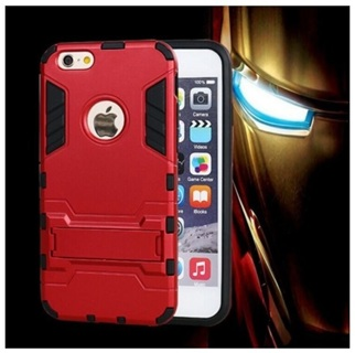 NEW Apple iPHONE 6 Hybrid Case TPU + P Shock Absorbent Dual Layer Case & Kick Stand