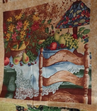 Table Topper to Quilt and Sew, 9 Blocks, 1 yard, 100% Cotton - TOP-001