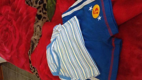 Baby boy Onesie and shorts size 0-3months