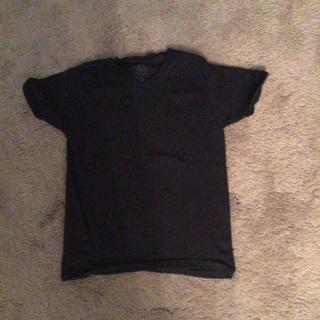 Boys black tee shirt size 6/7 like new