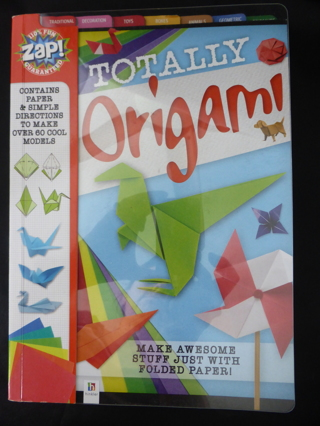 TOTALLY ORIGAMI Craft Book by Hinkler