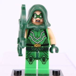 New Green Arrow Minifigure Building Toy Custom Lego