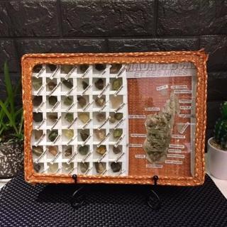 Madagascar natural mineral Teaching mineral specimen box