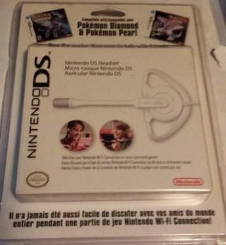 Brand New Nintendo DS Headset for Pokemon Diamond & Pokemon Pearl