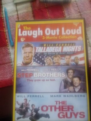 Laugh Out Loud 3 Movie Collection Will Ferrell VUDU Code