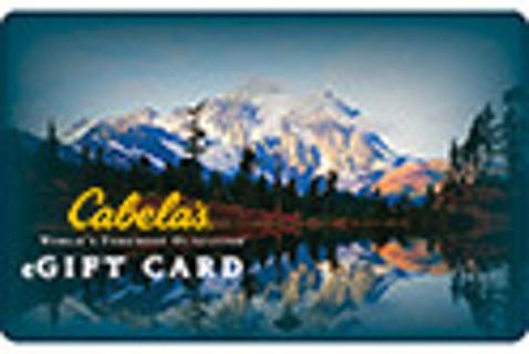 Cabela's $10 EGift Card