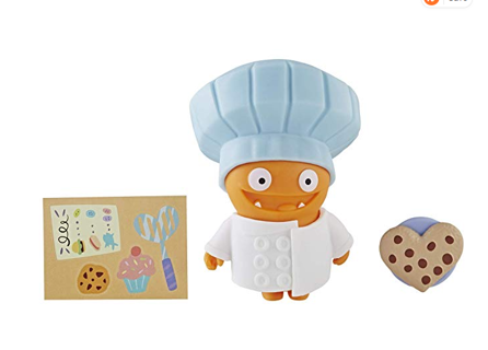 Uglydolls Disguise Savvy Chef Wage Toy, Figure & Accessories (Hat Color May Vary)