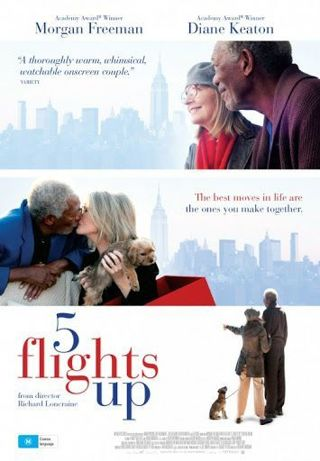 5 Flights Up *Digital HD code for an ITUNES REDEEM ONLY* *PORTS to connected retailers*