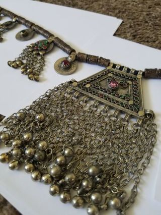 AUTHENTIC BELLY DANCER BELT! GREAT FOR HALLOWEEN COSTUME! MADE WITH KUCHI COINS