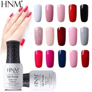 HNM 8ml UV Gel Nail Polish Soak Off Gel Polish 58 Colors GelLak Hybrid Varnish Semi Permanent Gelp