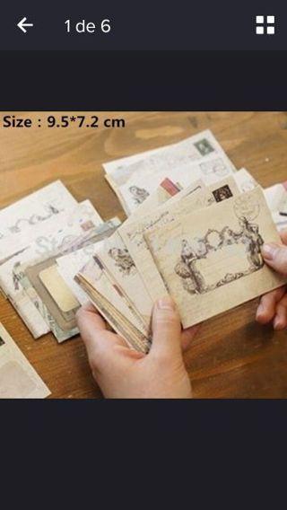 12Pcs Vintage Style postcards