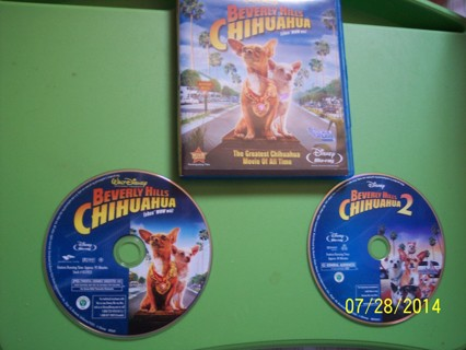 Beverly Hills Chihuahuas 1 & 2 on Blue Ray