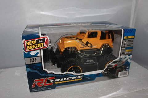 REMOTE CONTROL JEEP,LIFTED, TRAIL RATED