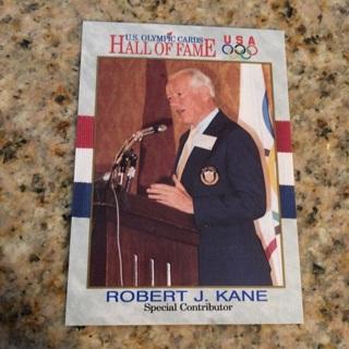 1991 Impel U.S. Olympicards Hall of Fame - [Base] #75 Robert J. Kane