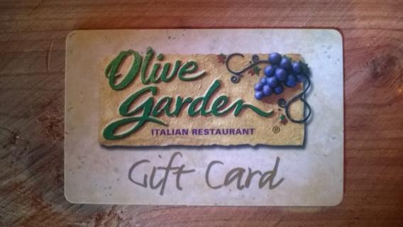 Olive Garden Gift Card $25.00