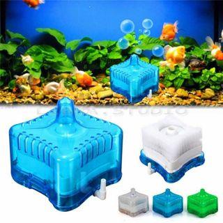 Mini Aquarium Internal Activated Carbon Filter Fish Tank Submersible Pump Spray