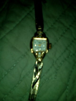 Beautiful Woman's Omega Watch