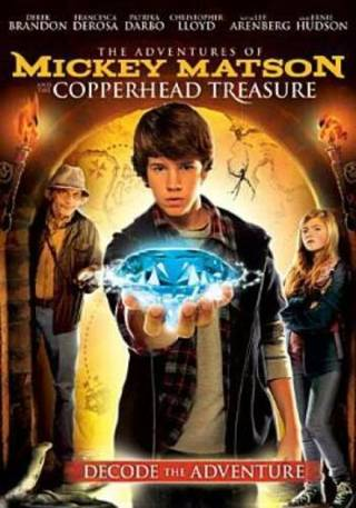 The Adventures of Mickey Matson & Copperhead Treasure Child's Dvd Movie + Sleeve-Brand New!