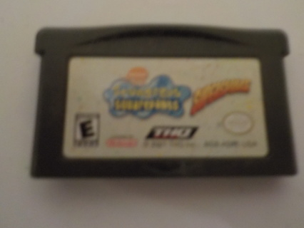 NINTENDO GAMEBOY ADVANCE VIDEO GAME SPONGE BOB SQUARE PANTS SUPERSPONGE