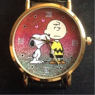 New Charlie Brown and Snoopy Watch with Large Face