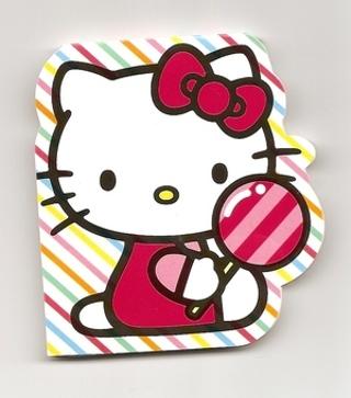 !!Third Notepad!! ((Kawaii Alert)) >> New Hello Kitty Notepad<< Pad of Paper Just 4 U!<<HK>>