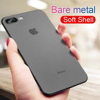 0.26mm Ultra Thin Matte Case On The For IPhone 7 8 6 6s XR XS Max X Original Case For IPhone XS XR