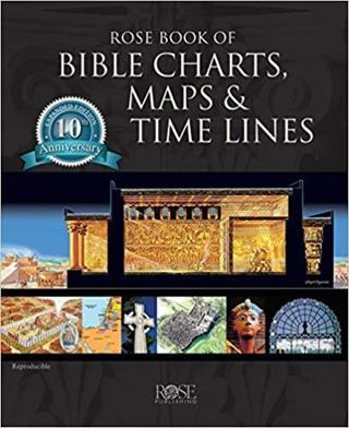 Rose Book of Bible Charts, Maps, and Time Lines 10th Anniversary Edition FREE SHIPPING