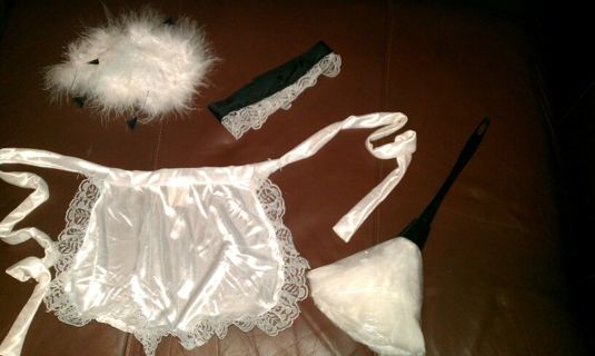 Feather Duster Costume