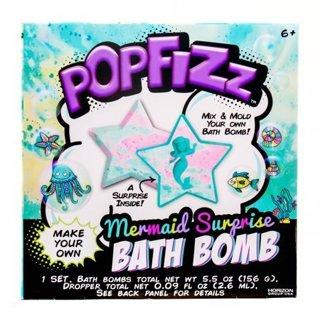 POPFIZZ MERMAID SURPRISE BATH BOMB KIT