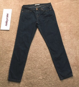 FOREVER 21 JEANS FASHION BLUE JEAN PANTS FREE SHIPPING