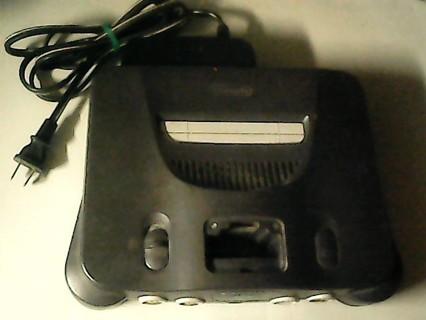 1 Original Nintendo 64 Console (Read Desription)