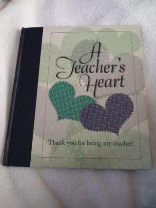 New Book A Teacher's Heart