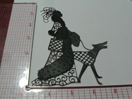 Lady Die Cut