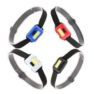 Headlamp Mini Headlight Flashlight Camping Head Torch COB LED