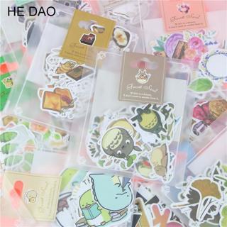 1 Bag Cute Cartoon Korean Style Decorative Stickers Adhesive Stickers Scrapbooking DIY Decoration
