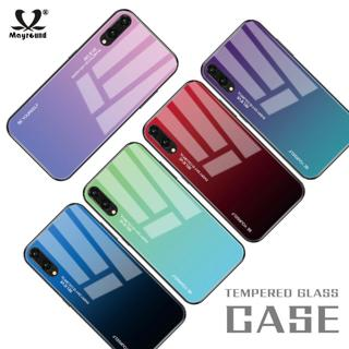 For Huawei Mate 20 P20 Lite Pro Gradient Tempered GLASS BACK Slim Case Cover