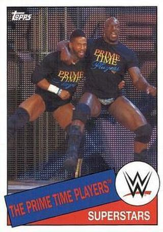 2015 Topps WWE Heritage Wrestling #83 The Prime Time Players