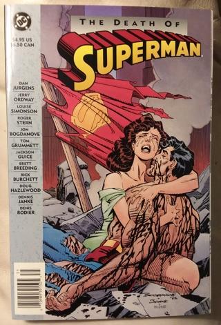 DC Comics The Death of Superman TPB 1993