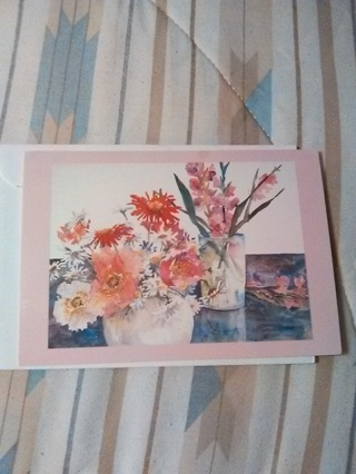 HOW CAN I HELP CARD WITH ENVELOPE -- NEW!!