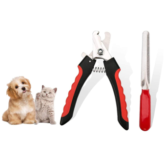 FadaStore Dog, cat and Bird Nail Clippers and Trimmers - with Safety Guard