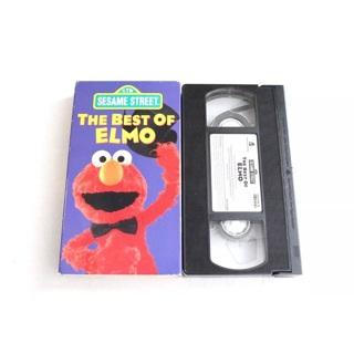 Sesame Street The Best of Elmo VHS