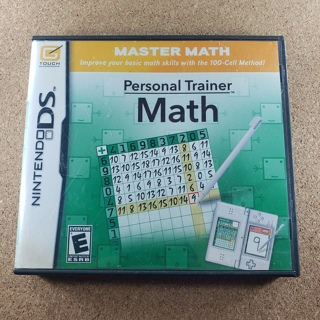 Personal Trainer Math Nintendo DS Game