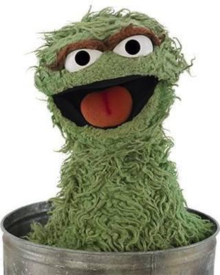 New Oscar Grouch Photo 4x6