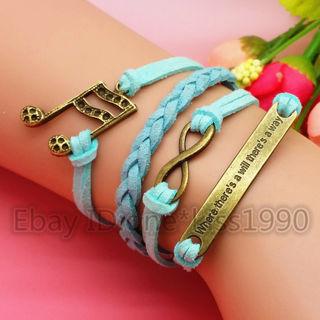 Bracelet: Music Inifinity Will Way