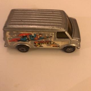 1978 Corgi Juniors Superman Van Die-Cast Car