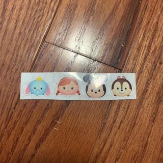 Small sheet of sticker