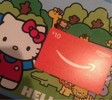 $10 Amazon Gift Card Certificate E Delivery GIN ONLY